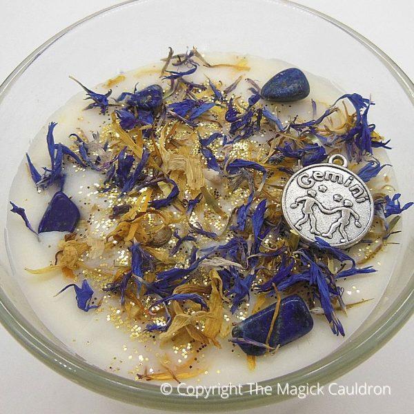 Gemini Zodiac Candles, Astrology Gifts, The Magick Cauldron