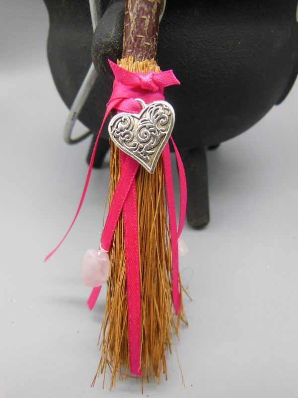 Wiccan Love Broomstick from The Magick Cauldron