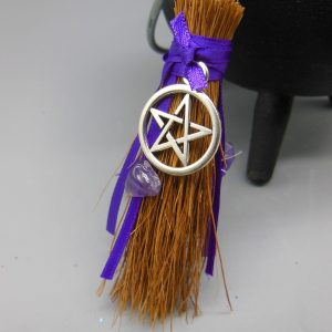 Wiccan Protection Broomstick from The Magick Cauldron