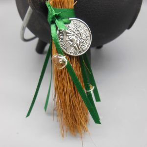 Wiccan Wealth Broomstick from The Magick Cauldron