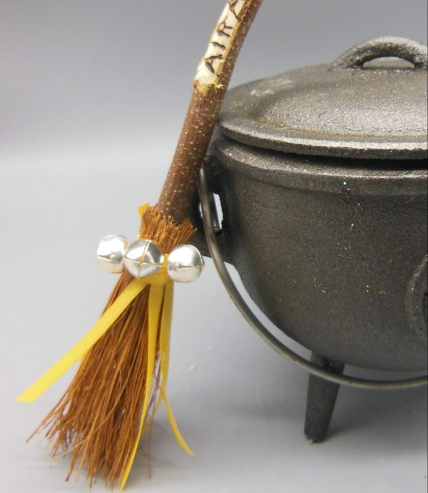 Air Besom Broomstick from The Magick Cauldron