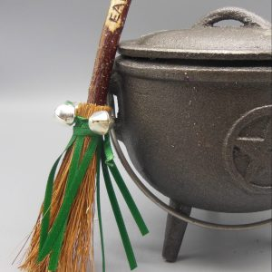 Earth Besom Broomstick from The Magick Cauldron