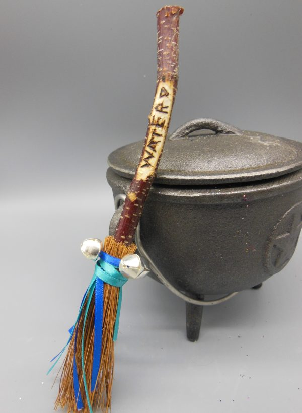 Water Besom Broomstick from The Magick Cauldron