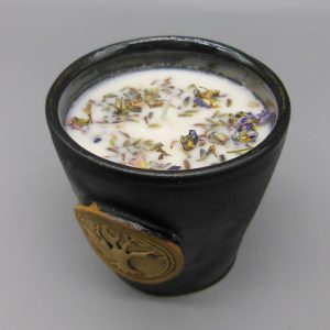 Essential Lavender Tree of Life Candle from The Magick Cauldron