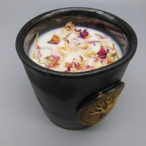 Essential Ylang Ylang Tree of Life Candle from The Magick Cauldron