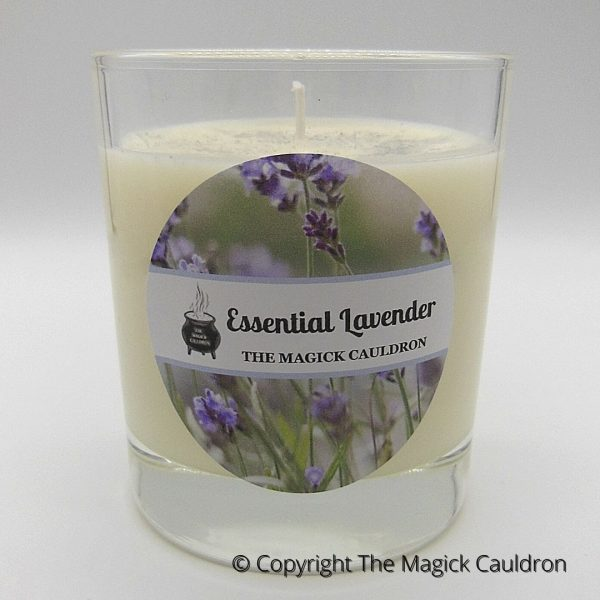 Essential Lavender Jar Candle, Vegan Candles from The Magick Cauldron
