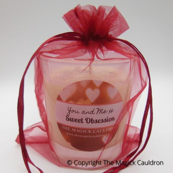 Sweet Obsession Jar Candle, Luxury Scented Soy Candle, The Magick Cauldron