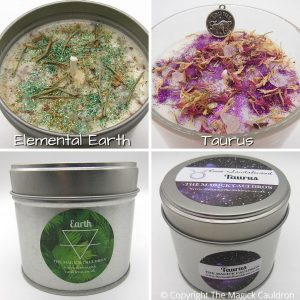 Zodiac Taurus Candle Gift Set, Astrology Candles, Star Sign Gift, The Magick Cauldron