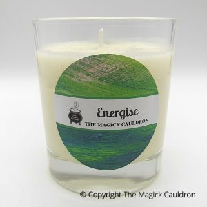 Energise Jar Candle, Essential Oil Candle, Soy Candles from The Magick Cauldron