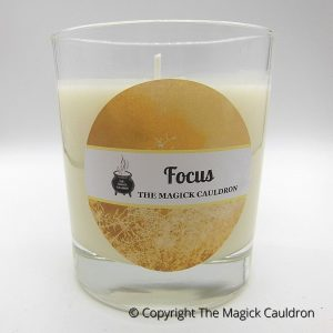 Focus Jar Candle, Essential Oil Candle, Soy Candles from The Magick Cauldron