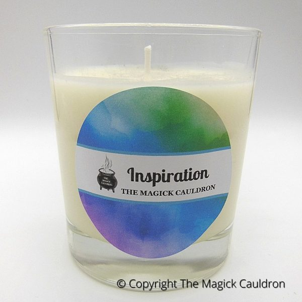 Inspiration Candles, Essential Oil Candle, Soy Candles from The Magick Cauldron