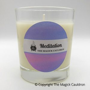 Meditation Jar Candle, Essential Oil Candle, Soy Candles from The Magick Cauldron