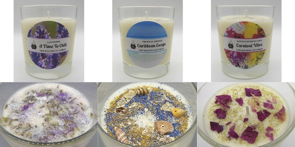 Our Ranges, Luxury Scented Candles from The Magick Cauldron