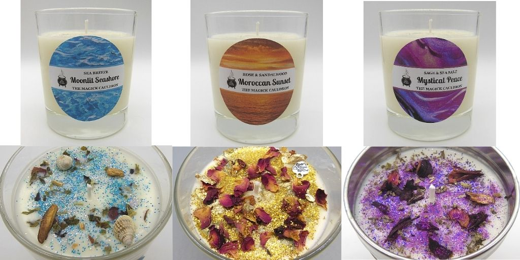 Our Candle Ranges, Luxury Scented Candles from The Magick Cauldron